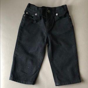 Polo RL Black Denim Jeans Size 12 mos
